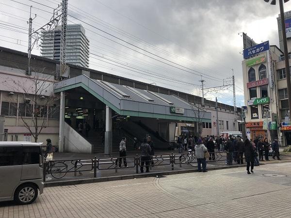 JR総武線「小岩」駅 約400m